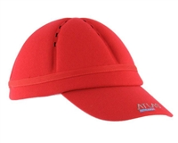 Atlas Paintball Flex Fit Padded Bounce Hat - Red