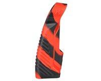 HK Army Rubber Reg Grip - Axe - Black/Red Swirl