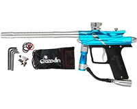 Azodin Blitz 3 Paintball Gun - Blue/Silver