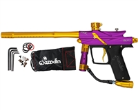 Azodin Blitz 3 Paintball Gun - Purple/Gold