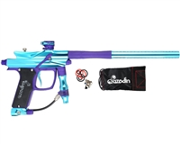 Azodin Paintball Gun - Blitz Evo 2 - Aqua/Purple