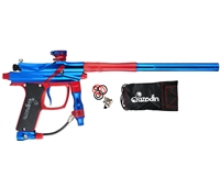 Azodin Blitz Evo II Paintball Gun - Blue/Red