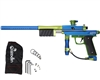 Azodin KP3 Kaos Pump Paintball Gun - Dust Blue/Polished Green/Dust Green