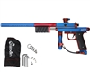 Azodin KP3 Kaos Pump Paintball Gun - Dust Blue/Polished Red/Dust Red
