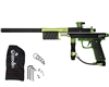 Azodin KP3 Kaos Pump Paintball Gun - Dust Black/Polished Green/Dust Green