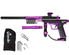 Azodin KP3 Kaos Pump Paintball Gun - Dust Black/Polished Purple/Dust Purple