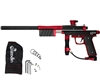 Azodin KP3 Kaos Pump Paintball Gun - Dust Black/Polished Red/Dust Red