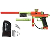 Azodin KP3 Kaos Pump Paintball Gun - Dust Orange/Polished Green/Dust Green