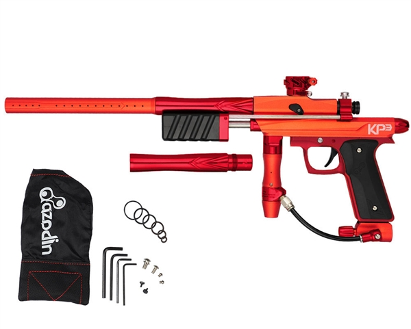 Azodin KP3 Kaos Pump Paintball Gun - Dust Orange/Polished Red/Dust Red