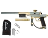 Azodin KP3 Kaos Pump Paintball Gun - Dust Titanium/Polished Gold/Dust Gold