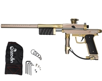 Azodin KP3 Kaos Pump Paintball Gun - Earth/Gold