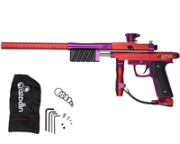 Azodin KP3 Kaos Pump Paintball Gun - Red/Purple