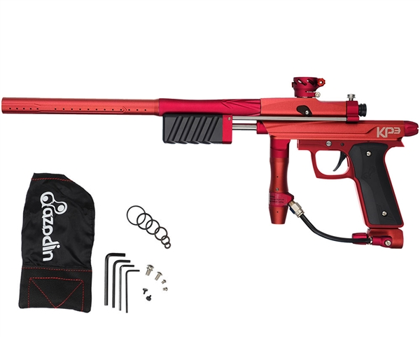 Azodin KP3 Kaos Pump Paintball Gun - Red/Red
