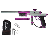 Azodin KP3 Kaos Pump Paintball Gun - Titanium/Purple