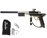 Azodin KP3 Kaos Pump Paintball Gun -Dust Black/Polished Gold/Dust Gold