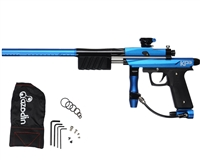 Azodin KP3 Kaos Pump Paintball Gun -Dust Blue/Polished Black/Dust Black