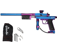 Azodin KP3 Kaos Pump Paintball Gun -Dust Blue/Polished Purple/Dust Purple