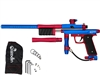 Azodin KP3 Kaos Pump Paintball Gun - Blue/Red