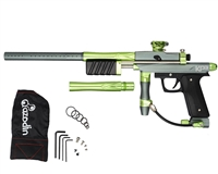 Azodin KP3 Kaos Pump Paintball Gun - Titanium/Green