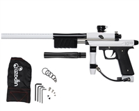 Azodin KP3 Kaos Pump Paintball Gun - White/Polished Black