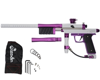 Azodin KP3 Kaos Pump Paintball Gun -Polished White/Polished Purple/Dust Purple