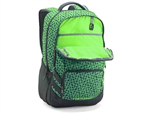 Under Armour Backpack - Storm Hustle II - Caspian/Stealth Grey/Lime (404)