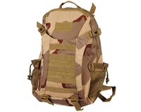 Warrior Molle Compatible Backpack - Camo