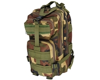 Warrior Tactical Backpack - Woodland Camo