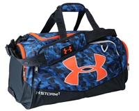Under Armour Duffle Bag - Storm Undeniable II - Medium - Blue/Grey/Orange (787)