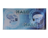 "Halo Paintball 48"" x 24"" Banner"