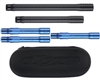 Dye Ultralite Complete Barrel Kit - Autococker - Dust Black Front/Dust Blue Back