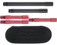 Dye Ultralite Complete Barrel Kit - Autococker - Dust Black Front/Dust Red Back