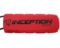 Inception Designs Bayonet Rubber Barrel Condom - Red