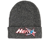 HK Army Beanie - Houston Heat Tracer (Heather Grey)
