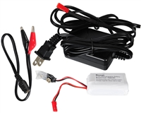 Boost Paintball Rechargeable Battery & Charger For Halo B Loaders - 8v 1400 MAH Li-Ion