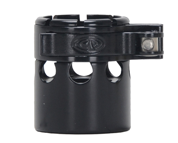 Custom Products Lever Lock Clamping Feed Neck - Autococker 2K Thread - Black