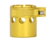 Custom Products Lever Lock Clamping Feed Neck - Autococker 2K Thread - Dust Yellow