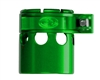Custom Products Lever Lock Clamping Feed Neck - Autococker 2K Thread - Green