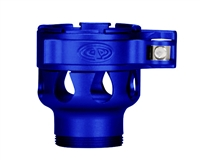 Custom Products Lever Lock Clamping Feed Neck - Dangerous Power/Dye/Proto Thread - Dust Blue