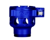 Custom Products Lever Lock Clamping Feed Neck - Smart Parts Shocker NXT/Ion XE Thread - Dust Blue