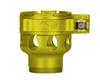 Custom Products Lever Lock Clamping Feed Neck - Smart Parts Shocker NXT/Ion XE Thread - Dust Yellow