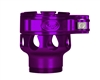 Custom Products Lever Lock Clamping Feed Neck - Smart Parts Shocker NXT/Ion XE Thread - Purple