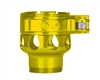 Custom Products Lever Lock Clamping Feed Neck - Smart Parts Shocker NXT/Ion XE Thread - Yellow