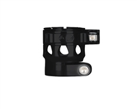 Custom Products Lever Lock Clamping Feed Neck - Planet Eclipse Early Model Ego/Etek Thread - Black