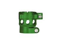 Custom Products Lever Lock Clamping Feed Neck - Planet Eclipse Early Model Ego/Etek Thread - Dust Green
