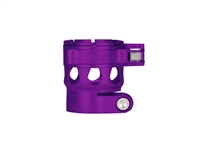 Custom Products Lever Lock Clamping Feed Neck - Planet Eclipse Early Model Ego/Etek Thread - Dust Purple