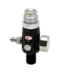 CP Compressed Air Tank Regulator - 4500 PSI - Black