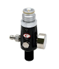 CP Compressed Air Tank Regulator - 4500 PSI - Dust Black