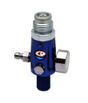 CP Compressed Air Tank Regulator - 4500 PSI - Dust Blue