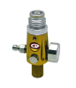 CP Compressed Air Tank Regulator - 4500 PSI - Yellow